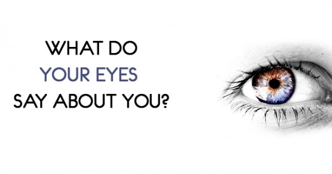 What do your eyes say about you? [Quiz]